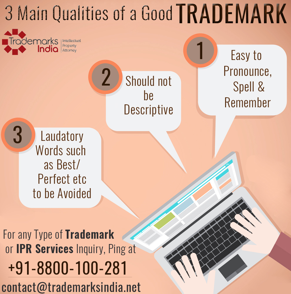3 Main Qualities of a Good Trademark